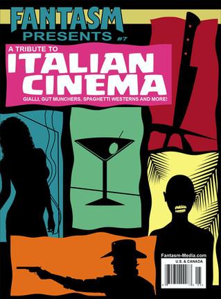 Fantasm Presents #7: A Tribute To Italian Cinema Pre-Order & First Look