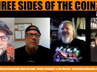 Fantasm Publisher Brian Steward on 3 Sides of The Coin this week!