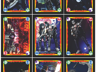 The Official KISS Poster Book #2 Card Set Wave 1 reveal