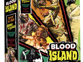 The Complete BLOOD ISLAND Trilogy Plus The Acclaimed Prequel coming from Severin!