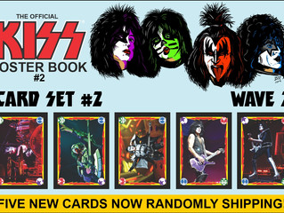 Fantasm Media's KISS Card Set #2 Wave 2 Released