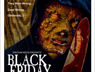 The Slasher Strikes! Black Friday Is Now!