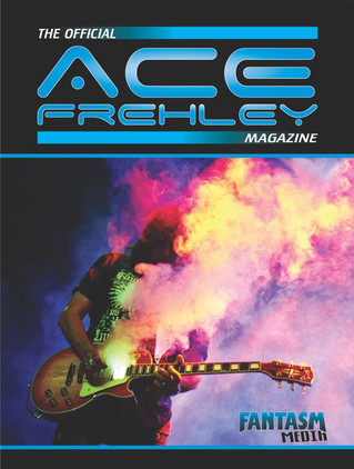 The Official Ace Frehley Magazine is at the printer!
