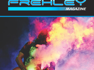 The Official Ace Frehley Magazine finally ships in July.