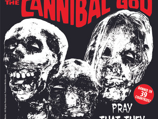 BLOOD CULT OF THE CANNIBAL GOD SHIRTS!