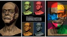 Brian Steward Releases New Frankenstein Print Set
