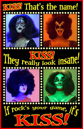 KISS Action Figures!  The Most Played with Band in History!