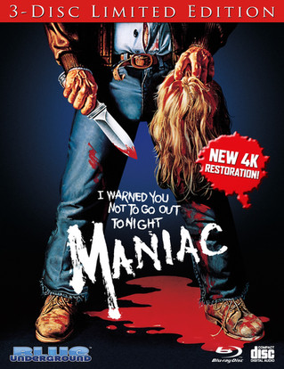 Maniac is Coming to Blu-Ray This December!
