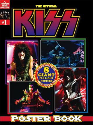 The Official KISS Poster Book #1 for only $15 For A  Limited time!
