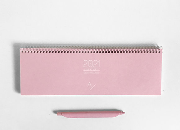 Weekly Planner - Candy Pink