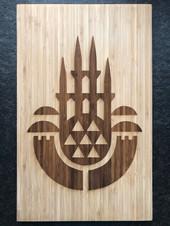 Bambusbrett 45 x 27 cm