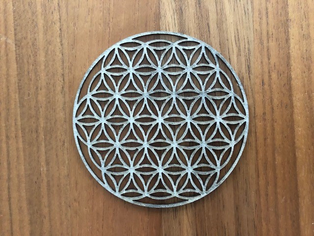 Lasergravur Flower of Life