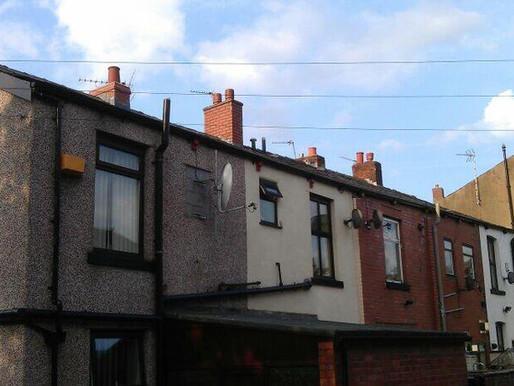 Seamless Aluminium Guttering | Terrace Houses | Tameside