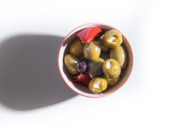 Gevulde Griekse Olijven met Feta