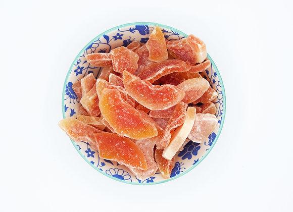 Papaya schijfjes