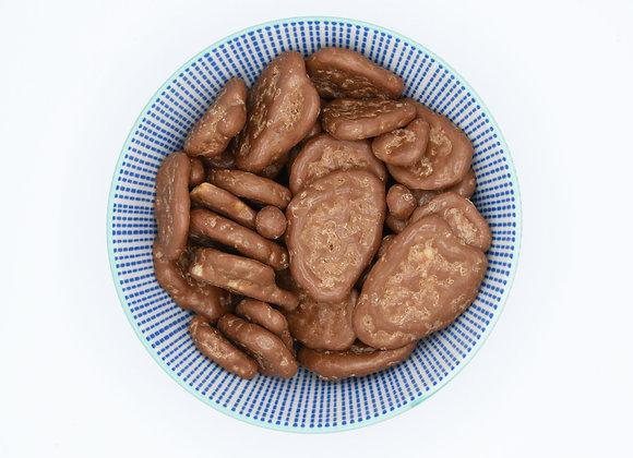 Chocolade bananenchips melk
