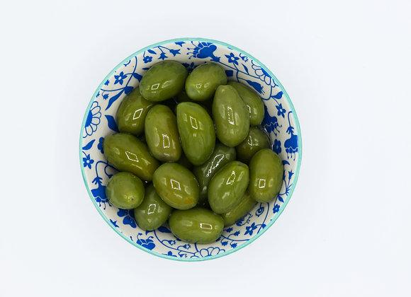 Italiaanse Bella olijven groen
