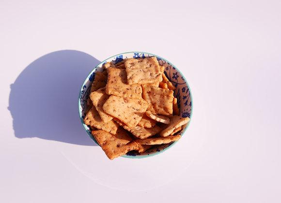 Zeezout Bonen crackers