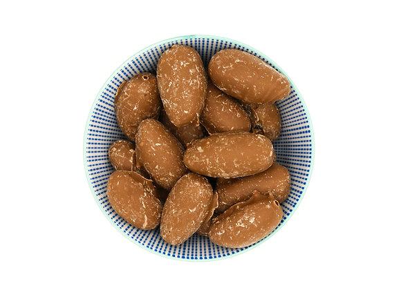 Dadels in melk chocolade
