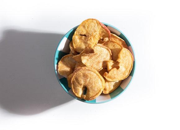 Appel chips met kaneel