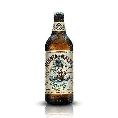 Cerveja Quinta do Malte Pilsen – 600 ml