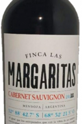 Vinho Tinto Cabernet Sauvignon Finca Las Margaritas