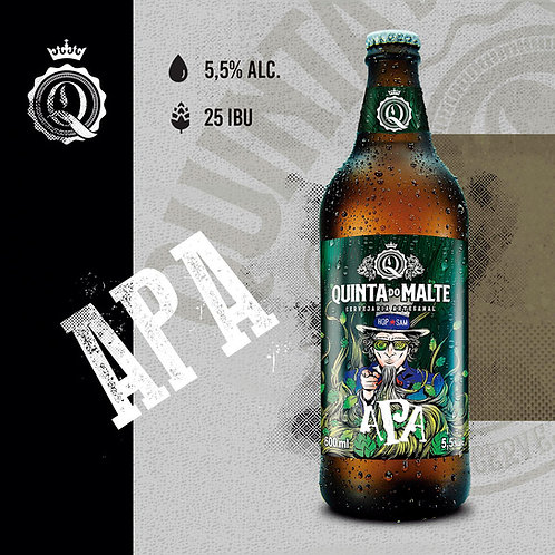 Cerveja Quinta do Malte Hop Sam – 600 ml