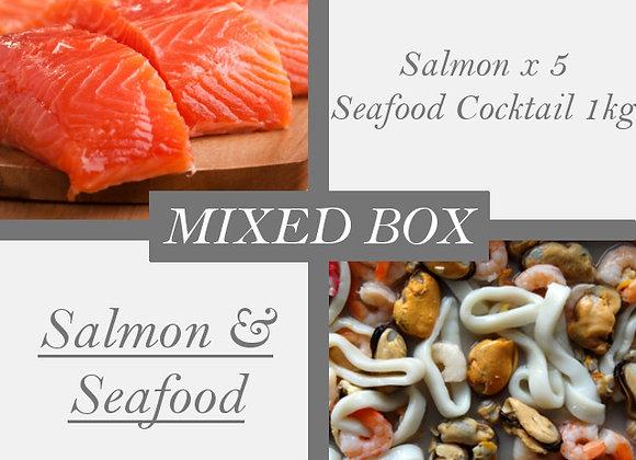 Salmon & Seafood Cocktail