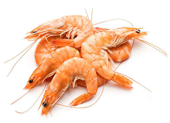 Crevettes Cooked