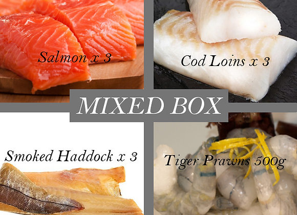 Fish & Prawn Pie Mix (2.5 Kg)