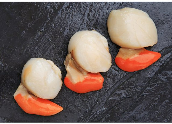 King Scallops Roe On