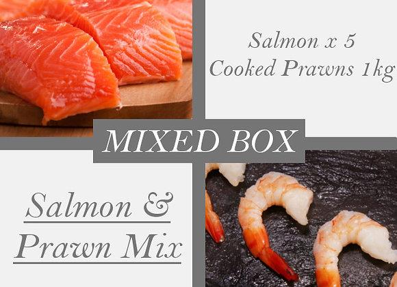 Salmon & Prawn Mix