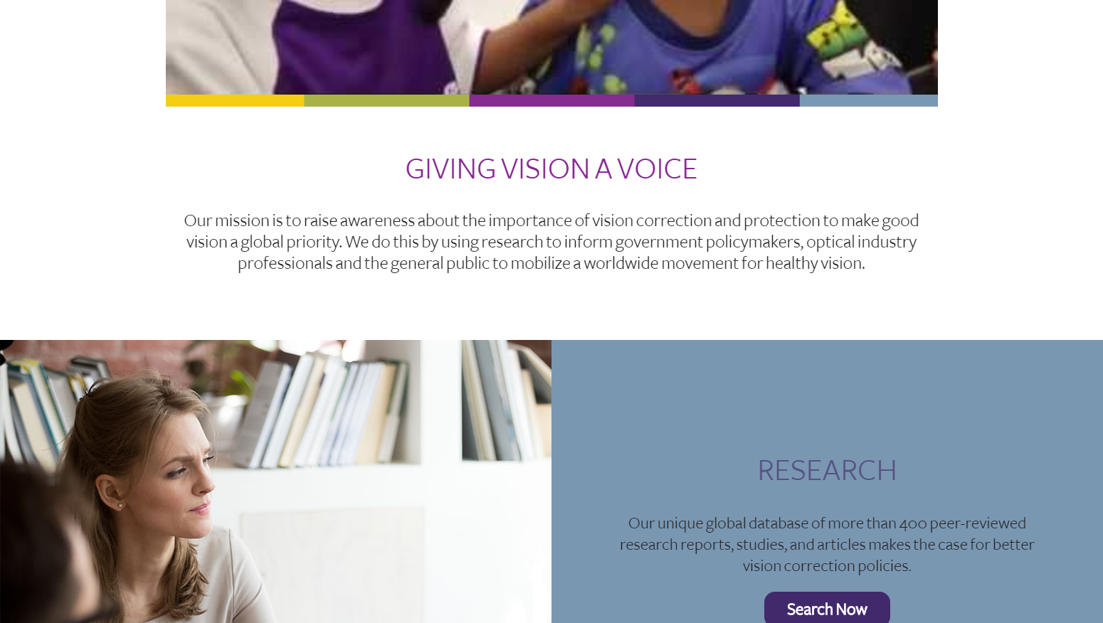 Vision Impact Institute - Giving Vision a Voice