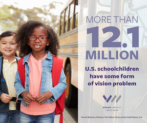 Poor Vision Affects Millions of Children in US
