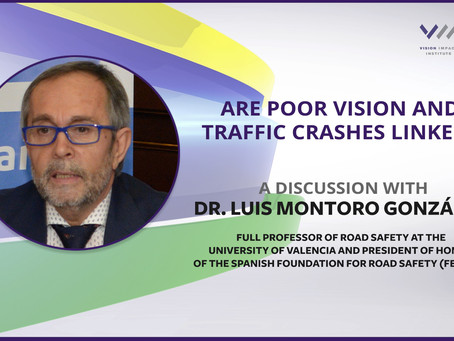 New Spanish Study Links Poor Vision to Traffic Crashes and Underscores Importance of Advocacy
