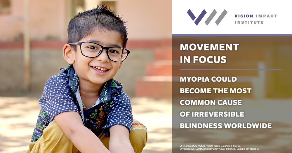 Today there is a myopia movement happening. A quick Google search reveals that discussions about visual myopia as a public health issue arrived on the scene in 2005, yet until recently, it remained an issue without a cause. Key research highlights that the global prevalence of myopia is continuing to rise to crisis levels as we approach 2050, but why does this research matter? What does it really mean – the myopia epidemic – and why do we need a movement to change the direction our world's vision is heading