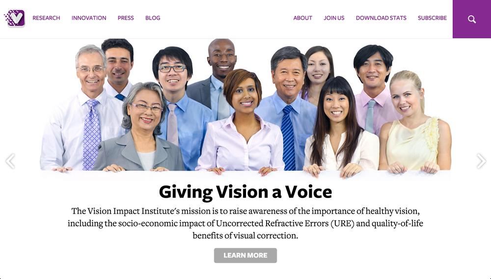Vision Impact Institute April 2015 Blog
