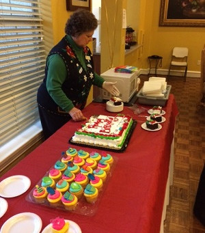 Second Family Home Care Hosts December Birthday's at The Bristol at Buckingham in Richardson, Texas