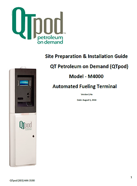 M4000 Site Prep and Installation Guide.P