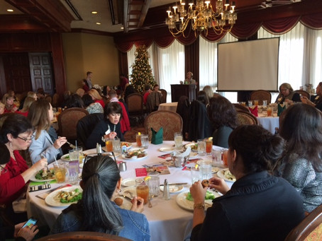 Former Senator Florence Shapiro Speaks at the Plano Chamber of Commerce Women's Division Holiday Lun