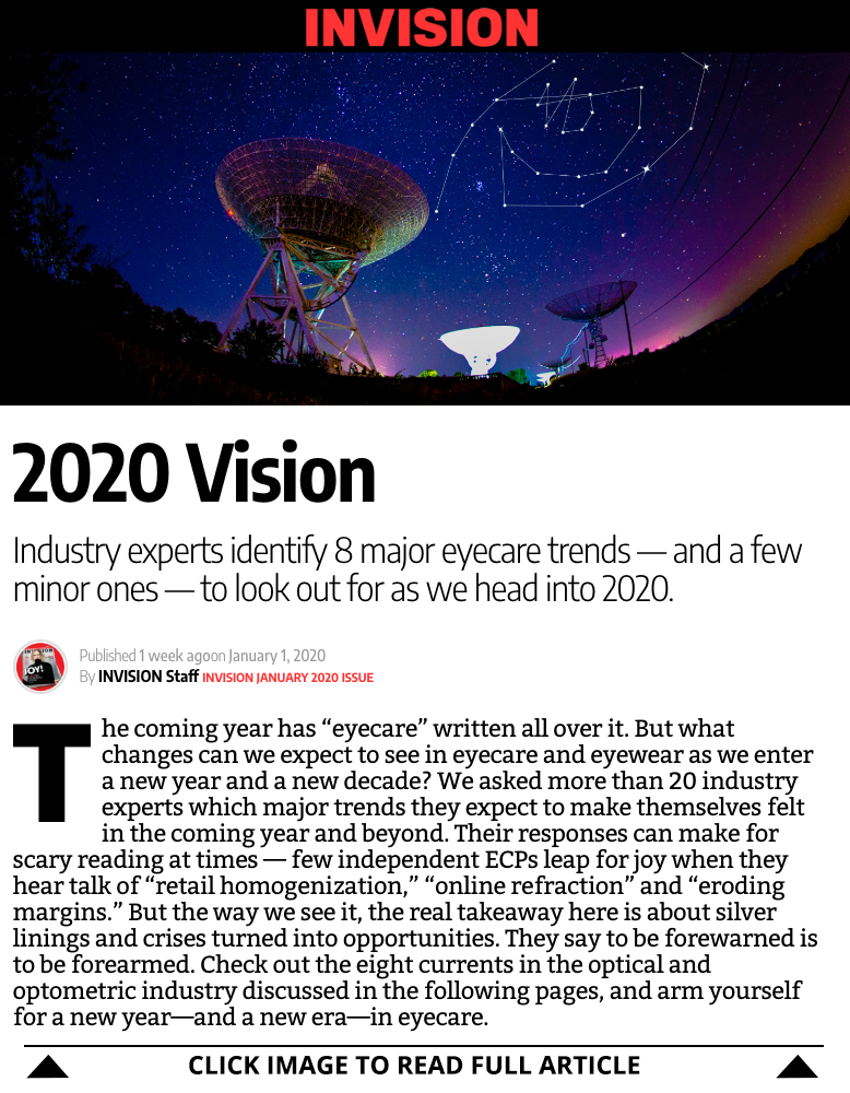 VII 2020 Trends Eye Care Eye Health