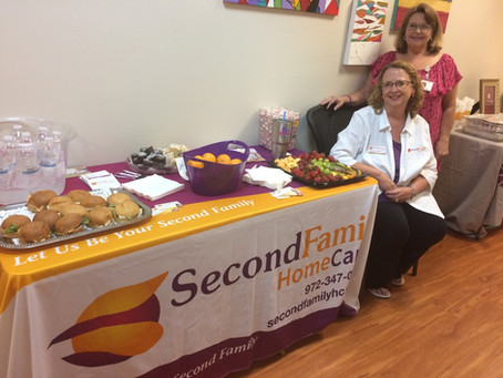 Second Family Home Care Supports Texas Alzheimer's and Memory Disorders in Fundraising for The