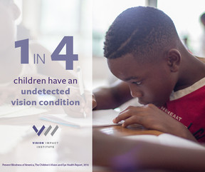 25% of Children Have Undetected Poor Vision