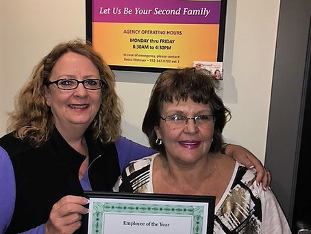 Terri Wozniak – Employee of the Year!!!