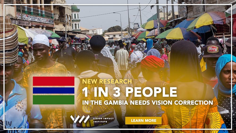 gambia vision impact institute