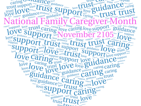 November is National Family Caregiver Month