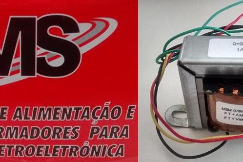 Transformador Forca   99V 1AP 110  220V AC  Marca MS