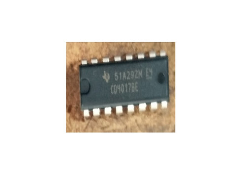 Circuito integrado CD4017 16 pinos original