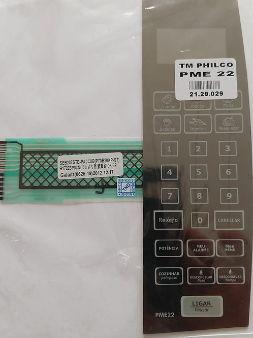 Membrana Microondas Philco Mod PME 22