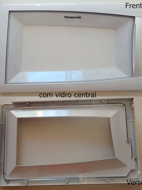 Porta frontal com vidro do microondas Panasonic NNST669WRUK